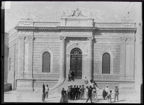 Cagliari, Regio Museo, post 1914. Facciata, CC BY-NC-ND