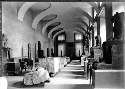 Museo Egizio, Galleri dei RE, sala II, allestimento anni '50, 1900 secolo, CC BY-SA
