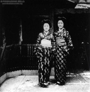Sella, Venanzio, Viaggio in Cina e Giappone, 1925, Lastra di vetro alla gelatina al bromuro d'argento, CC BY-SA