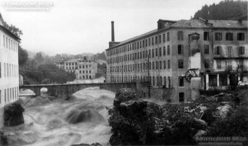 Sella, Gaudenzio, Torrente Cervo a Biella in piena, s.d., Stampa alla gelatina, CC BY-SA