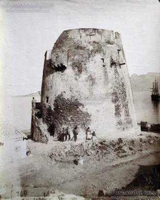 Besso, Vittorio, Arbatax. Torre d'avvistamento, Albumina, CC BY-SA