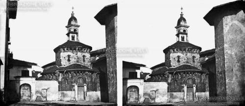 Sella, Giuseppe Venanzio, Battistero di Biella, 1856, Collodio stereoscopico, CC BY-SA