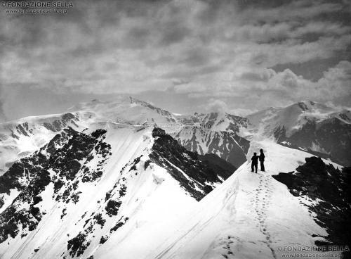 Sella, Vittorio, Monte Cevedale, etc. dalla vetta di una delle cime del Forno, 21/07/1887, Negativo alla gelatina, CC BY-SA