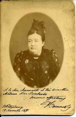 Stampa all'albumina incollata su cartoncino (7 X 11 cm)., Pauline Tarnowsky, 1891, CC BY-SA