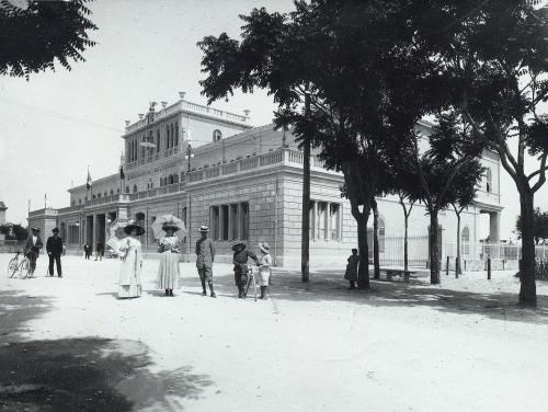 Gaetano Baviera, Hotel Lido a Fano, ante 1919, gelatina a sviluppo, CC BY-SA
