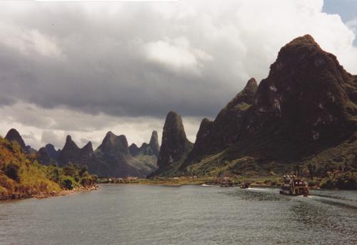 Il paesaggio di Kweilin sul fiume Li Jiang, 1981, CC BY-SA
