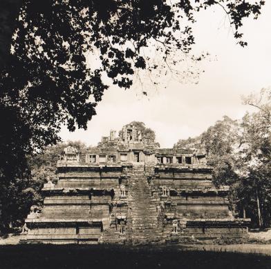 Angkor, Cambogia, 1970, CC BY-SA