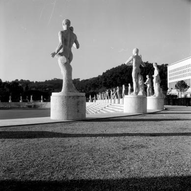 Georgina Masson (1912-1980), Roma, Foro Italico (1950-1965), post 1950, CC BY-SA