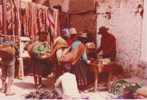 Mercato in Perù, 1978, CC BY-SA