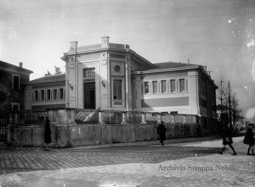 Goffredo Molari, Pesaro, i bagni pubblici, 1927, CC BY-SA