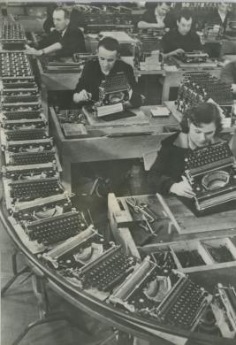 Olivetti, Ivrea 1960, CC BY-NC-ND