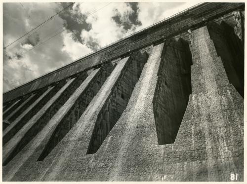 Guglielmo Chiolini, Diga AEM di San Giacomo, 09/02/1939, Gelatina bromuro d'argento/carta, CC BY-NC-ND
