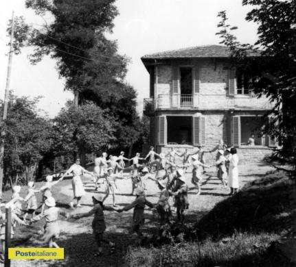 1961, Prunetta. Girotondo alla colonia estiva montana, CC BY-NC-ND