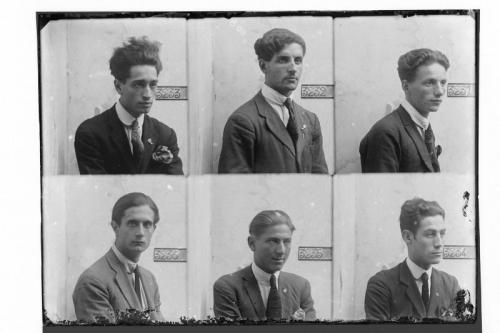 Ritratti di aspiranti piloti, 1917, CC BY-SA