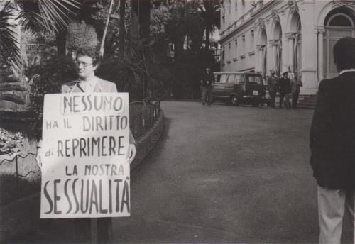 Angelo Pezzana a Sanremo. Nessuno ha il diritto di reprimere la nostra sessualità, CC BY-SA