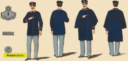 Nuova divisa dei portalettere del Regno d'Italia (1880), CC BY-NC-ND