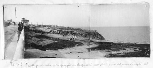 Anonimo, Siracusa - via Arsenale altezza convento frati Cappuccini (Villa Abela sullo sfondo), 1920 circa, Stampa ai sali d'argento, CC BY-SA