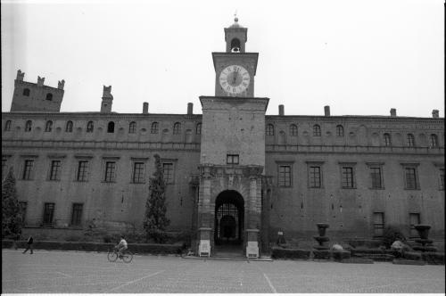 Carpi, Castello dei Pio, 1980 circa, negativo su pellicola di poliestere, CC BY-SA