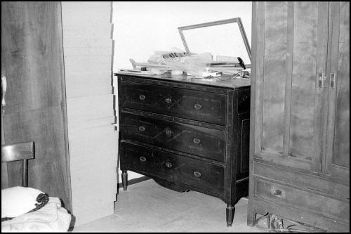 Arredi della Casa di riposo di Boretto, 1980 circa, negativo su pellicola di poliestere, CC BY-SA