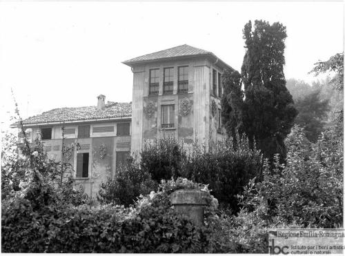 Walter Baricchi, San Polo d'Enza, Caverzana, villa Bonfanti (già villa ing. Ferrari), 1980 circa, positivo alla gelatina a sviluppo, CC BY-NC-ND