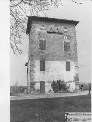 Vittorio Degli Esposti, Argelato, villa Facchini, 1972 circa, positivo alla gelatina a sviluppo, CC BY-ND