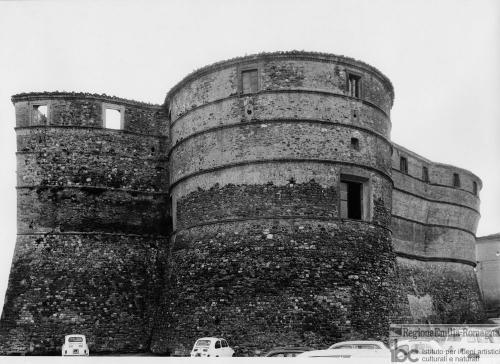 Gian Franco Fontana, Veduta della rocca di Sassocorvaro, 1969 circa, positivo alla gelatina a sviluppo, CC BY-ND