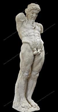 Museo Archeologico Regionale Paolo Orsi di Siracusa, Priapo in calcare, da Siracusa, seconda metà III sec. a.C., Fotografia d'interni, CC BY-NC-ND