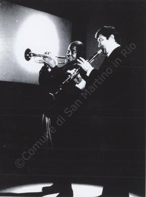 Henghel Gualdi e Louis Armstrong, 1968, CC BY-NC-ND