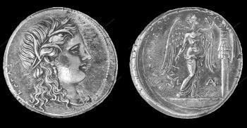 Archivio fotografico Museo Archeologico Regionale Paolo Orsi - Medagliere-Monete- Sicilia greca