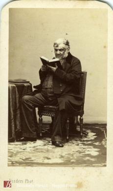 Disderi , Andre Adolphe-Eugene, [Antonio Panizzi], 1862 circa, 1 fotografia bianco e nero : albumina ; 60x90 mm, CC BY-SA