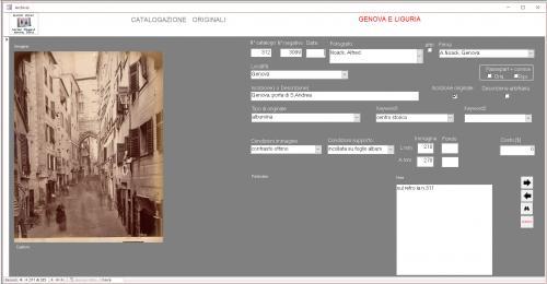 Adriano Silingardi, Data base collezione genova e Liguria, CC BY-SA