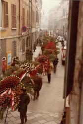 Magnani Valdo funerale, Reggio Emilia 1982