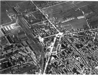 Reggio Emilia dall'alto, 1942
