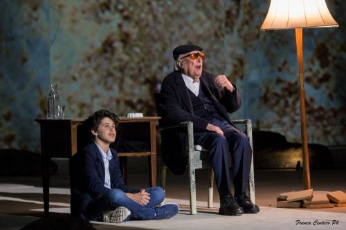Franca Centaro, Teatro greco di Siracusa. Conversazione su Tiresia. Regia Roberto Andò, 2018, CC BY-SA