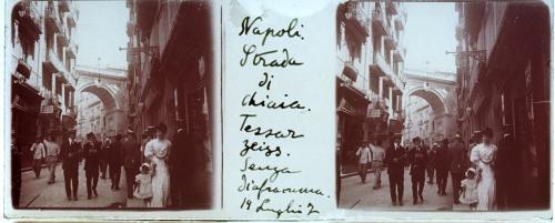 Fondo Pretti. Napoli, Strada di Chiaia., 1907, CC BY-SA